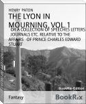 THE LYON IN MOURNING, VOL. 1