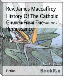 History Of The Catholic Church From The Renaissance