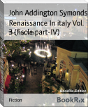 Renaissance In italy Vol. 3 (fiscle part-IV)