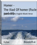 The Iliad Of homer (fiscle part-III)