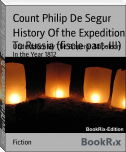 History Of the Expedition To Russia (fiscle part-III)