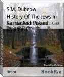 History Of The Jews In Russia And Poland. Volume Ii