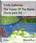 The Honor Of The Name (fiscle part-IV)