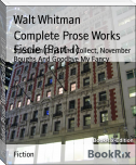 Complete Prose Works Fiscle (Part-I)