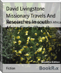 Missionary Travels And Researches In south Africa Fiscle (Part-I)