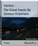 The Great Events By Famous Historians