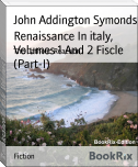 Renaissance In italy, Volumes 1 And 2 Fiscle (Part-I)