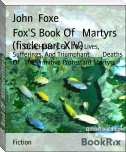 Fox'S Book Of   Martyrs (fiscle part-XIV)