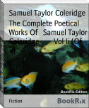 The Complete Poetical Works Of   Samuel Taylor Coleridge        Vol Ii (Of Ii)