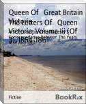 The Letters Of   Queen Victoria, Volume Iii (Of 3), 1854-1861