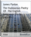 The Humourous Poetry Of   The English Language (fiscle part-XIII)