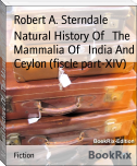Natural History Of   The Mammalia Of   India And Ceylon (fiscle part-XIV)
