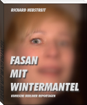 FASAN MIT WINTERMANTEL