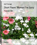 Short Poem: Woman I'm Sorry