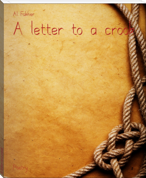 A letter to a crook