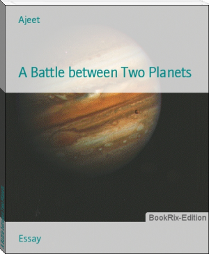 A Battle between Two Planets