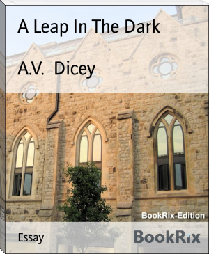 A Leap In The Dark