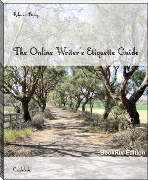 The Online Writer's Etiquette Guide