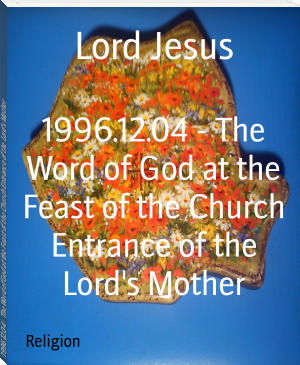1996.12.04 - The Word of God at the Feast of the Church Entrance of the Lord's Mother