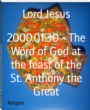 2000.01.30 - The Word of God at the feast of the St. Anthony the Great