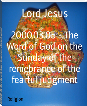 2000.03.05 - The Word of God on the Sunday of the remebrance of the fearful judgment