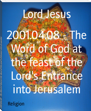 2001.04.08 - The Word of God at the feast of the Lord's Entrance into Jerusalem