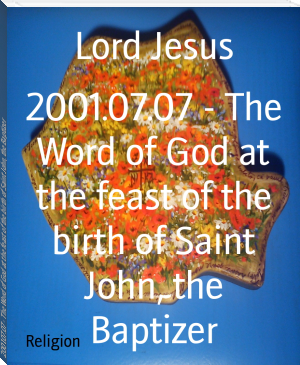 2001.07.07 - The Word of God at the feast of the birth of Saint John, the Baptizer