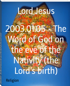 2003.01.05 - The Word of God on the eve of the Nativity (the Lord's birth)