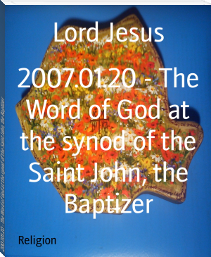 2007.01.20 - The Word of God at the synod of the Saint John, the Baptizer
