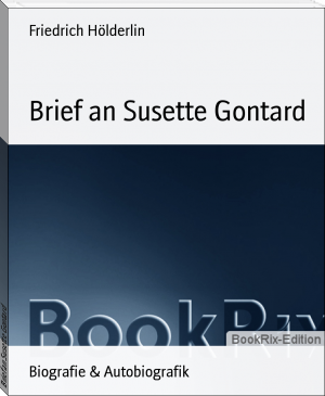 Brief an Susette Gontard