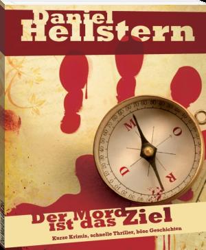 """Buchcover Daniel Hellstern """"Der Mord ist das Ziel"""""""