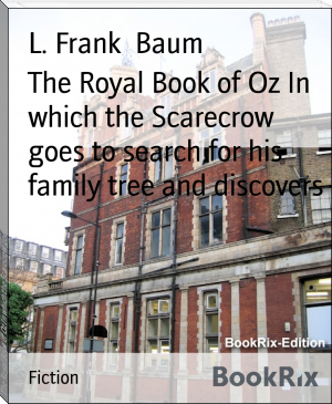 The Royal Book of Oz In which the Scarecrow goes to search for his family tree and discovers