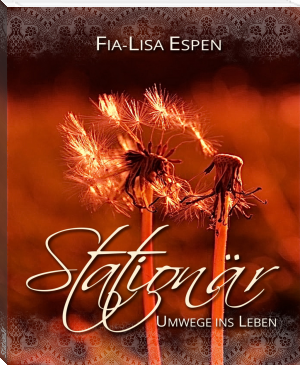 """Buchcover Fia-Lisa Espen - """"Stationär"""""""
