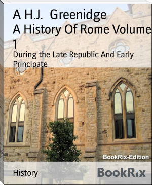 A History Of Rome Volume 1