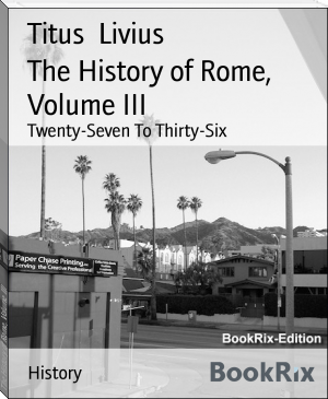 The History of Rome, Volume III