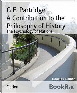 A Contribution to the Philosophy of History