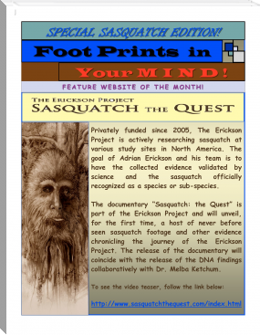 JULY SPECIAL SASQUATCH EDITION