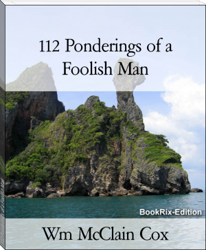 112 Ponderings of a Foolish Man