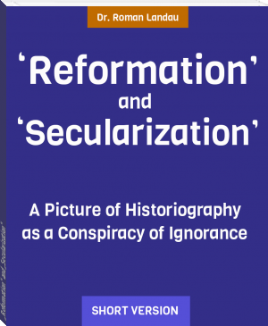 """Reformation"" and ""Secularization"""