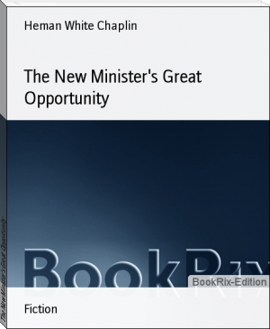 The New Minister's Great Opportunity
