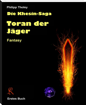 "Buchcover Philipp Tholey - ""Toran der Jäger"""