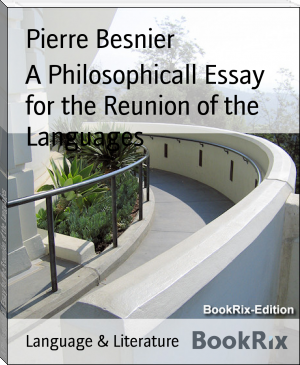 A Philosophicall Essay for the Reunion of the Languages