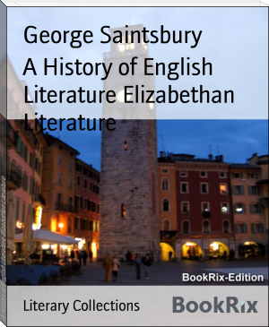 A History of English Literature Elizabethan Literature