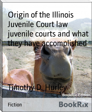 Origin of the Illinois Juvenile Court law  juvenile courts and what they have accomplished