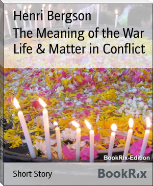 The Meaning of the War Life & Matter in Conflict