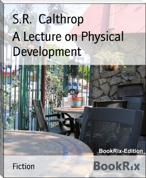 A Lecture on Physical Development