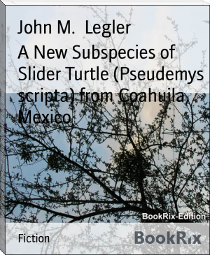 A New Subspecies of Slider Turtle (Pseudemys scripta) from Coahuila, Mexico