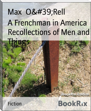 A Frenchman in America Recollections of Men and Things
