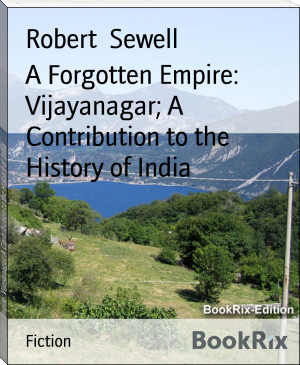 A Forgotten Empire: Vijayanagar; A Contribution to the History of India