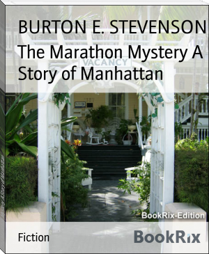 The Marathon Mystery A Story of Manhattan